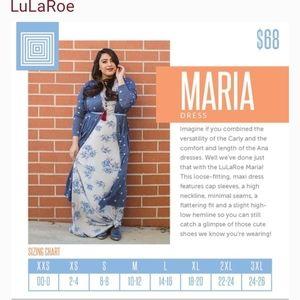 Mystery Lularoe Maria Dress